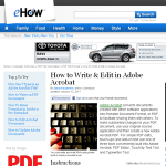 adobe acrobat write & edit